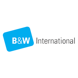 B und W international Logo
