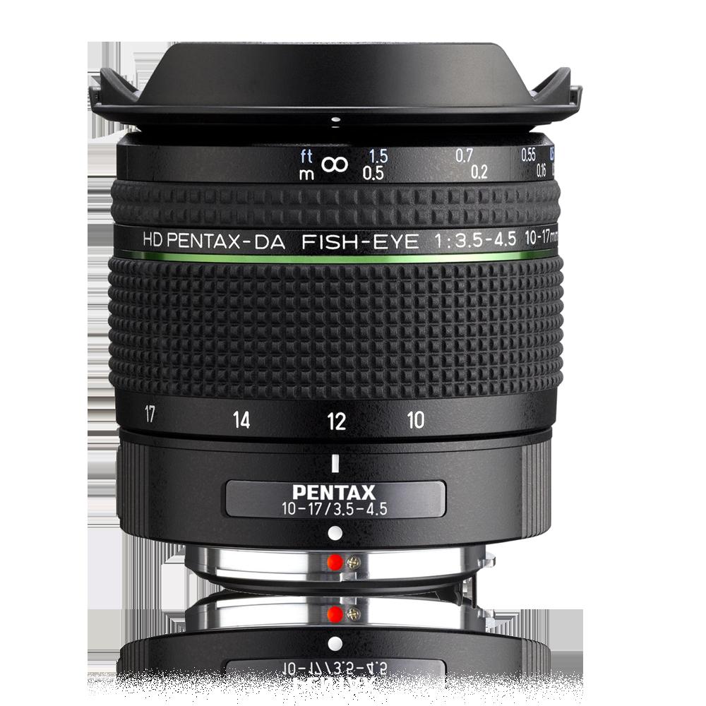 Pentax HD-DA 10-17/3.5-4.5 ED Fisheye