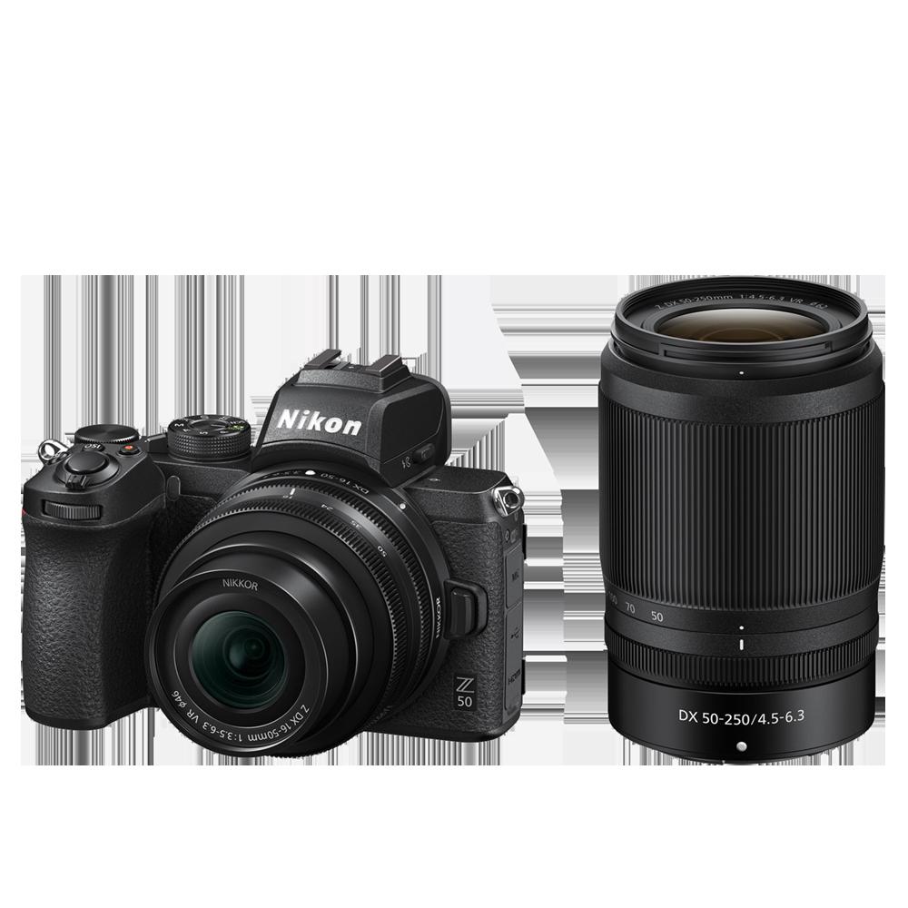 Nikon Z 50 Kit DX 16-50/3.5-6.3 VR + DX 50-250/4.5-6.3 VR