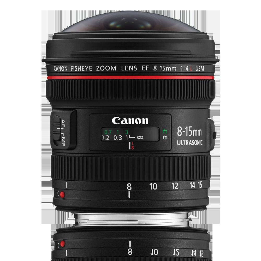 Canon EF 8-15/4.0 L USM Fisheye